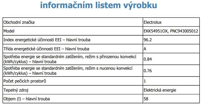 Obrázek galerie pro produkt Electrolux EKK54951OX PlusSteam Kombinovaný sporák nerez 50cm s parní funkcí
