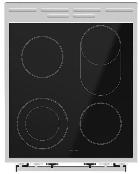 Obrázek galerie pro produkt Gorenje EC5351WA Sklokeramický sporák bílý 50cm, HomeMade Plus, MultiAir