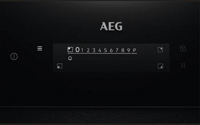 Obrázek galerie pro produkt AEG Mastery SenseFry IAE64843FB Tmavě šedá indukční deska 60cm, Windmill / Bridge