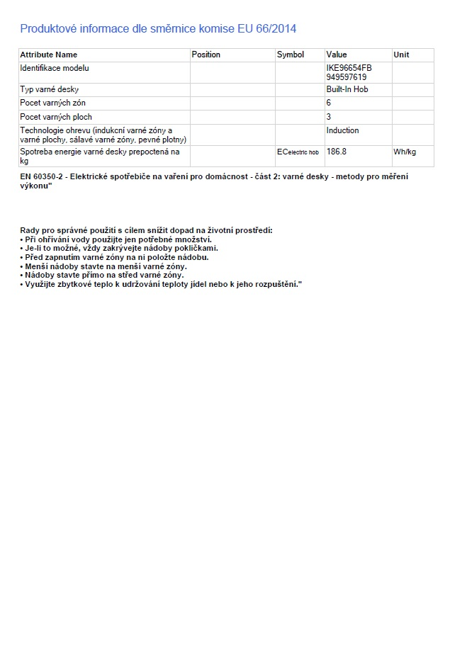 Obrázek galerie pro produkt AEG IKE96654FB Varná deska indukční 90 cm MULTIPLEBRIDGE HOB2HOOD