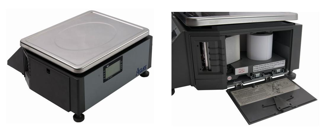 Obrázek galerie pro produkt ACLAS LS2N615, 6/15kg + DÁREK, Obchodní váha s tiskem etiket a účtenek (včetně ES ověření)