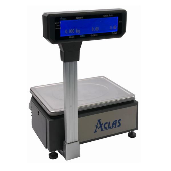 Obrázek galerie pro produkt ACLAS LS2R615 - 6/15kg + DÁREK, Obchodní s tiskem etiket a účtenek (včetně ES ověření)