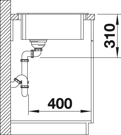 Obrázek galerie pro produkt Blanco ZIA 9 E Silgranit antracit /514764/ + DÁREK, Kuchyňský rohový dřez (bez excentru)
