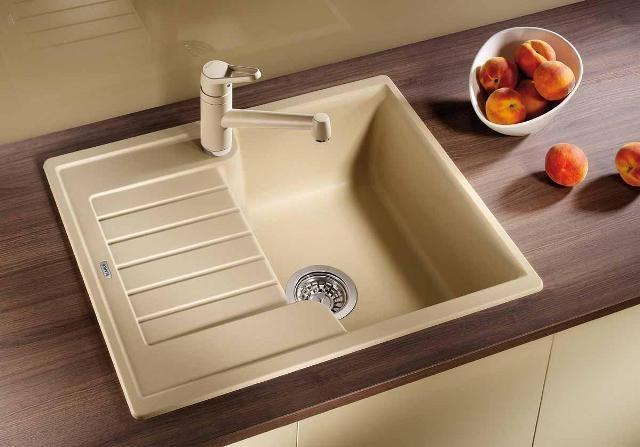 Obrázek galerie pro produkt Blanco ZIA 40 S Silgranit šedá skála /518932/ + DÁREK, Kuchyňský dřez (bez excentru)