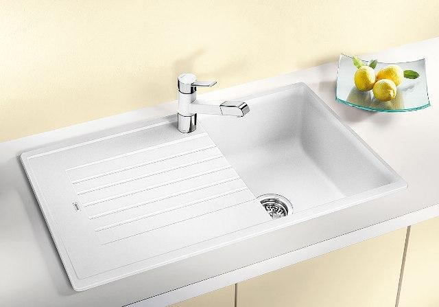 Obrázek galerie pro produkt Blanco Zia 45 SL antracit Silgranit /516748/ + DÁREK, Kuchyňský dřez (bez excentru)