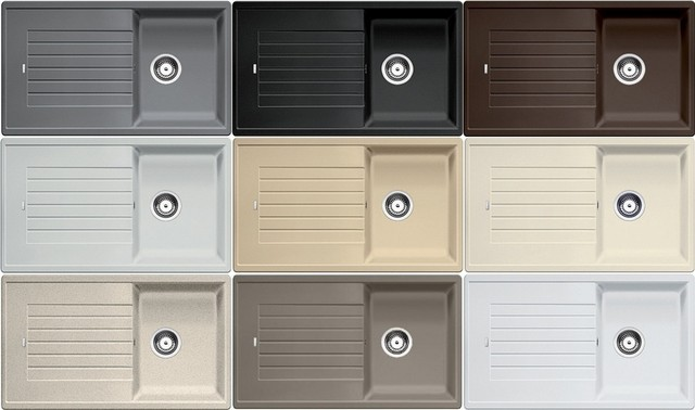 Obrázek galerie pro produkt Blanco ZIA 45 SL Silgranit šedá skála /518935/ + DÁREK, Kuchyňský dřez (bez excentru)
