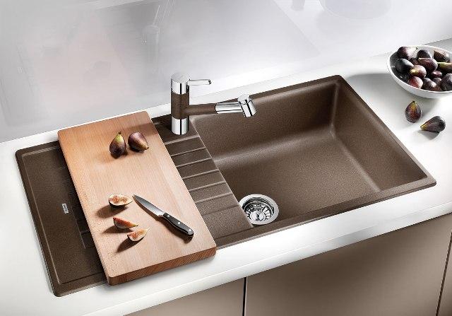 Obrázek galerie pro produkt Blanco ZIA 5 S Silgranit šedá skála granit /520512/ + DÁREK, Kuchyňský dřez (bez excentru)
