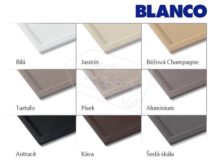 Obrázek galerie pro produkt Blanco ZIA 6 S Silgranit bílá /514742/ + DÁREK, Kuchyňský dřez (bez excentru)