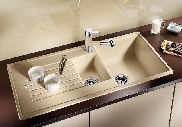 Obrázek galerie pro produkt Blanco ZIA 6 S Silgranit béžová champagne /514744/ + DÁREK, Kuchyňský dřez (bez excentru)