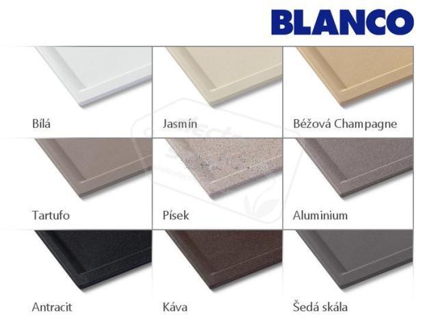 Obrázek galerie pro produkt Blanco ZIA 9 Silgranit bílá /516678/ + DÁREK, Kuchyňský dřez (bez excentru)