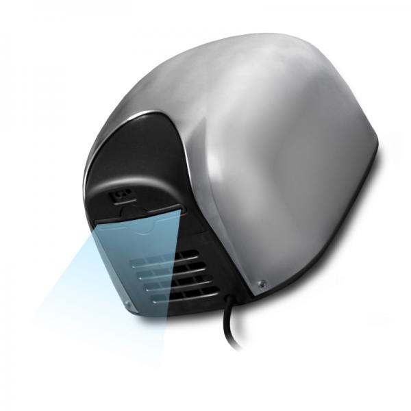 Obrázek galerie pro produkt Cata Empire Ecoflow LF 1100 W Automatic Antivandal + AKCE, Tryskový vysoušeč rukou, alu lesk