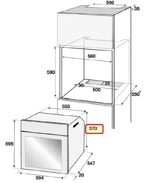 Obrázek galerie pro produkt Beko BIM22301X Multifunkční trouba nerez s horkovzduchem a grilem, AquaClean