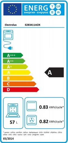 Obrázek galerie pro produkt Electrolux Série 300 EZB3411AOX Trouba vestavná nerez