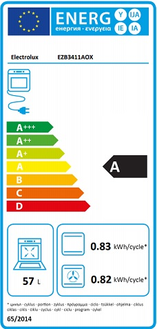 Obrázek galerie pro produkt Electrolux EZB3411AOX Série 300  Trouba vestavná nerez