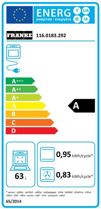 Obrázek galerie pro produkt Franke Country CM 85 M CO + DÁREK, RETRO vestavná trouba v barvě mosaz