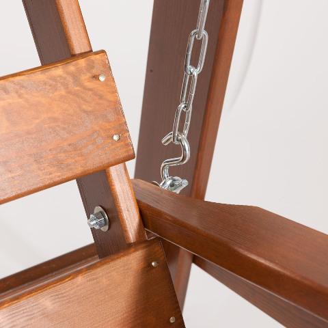Obrázek galerie pro produkt Garland Maja + AKCE, Zahradní dřevěná houpačka 150 cm, severská borovice
